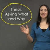 Thesis: Asking what and why