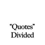 Divided Quotation Punctuation