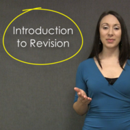 Introduction to Revision