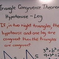 Triangle Congruence Theorem (HL)