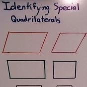 Identifying Special Quadrilaterals