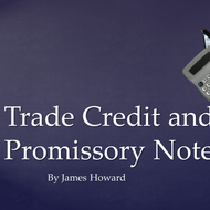 Trade Credit and Promissory Notes