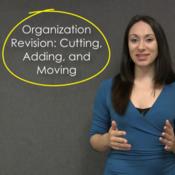 Organization Revision: Cutting, Adding, Moving