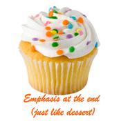 Emphasis: Ending a Sentence Strategically