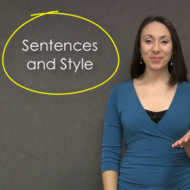 Sentences and Style