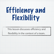 Efficiency and Flexibility: Improving Personal Efficiency