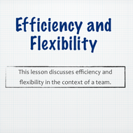 Efficiency and Flexibility