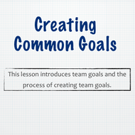 Creating Common Goals