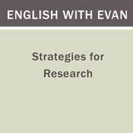 Strategies for Research