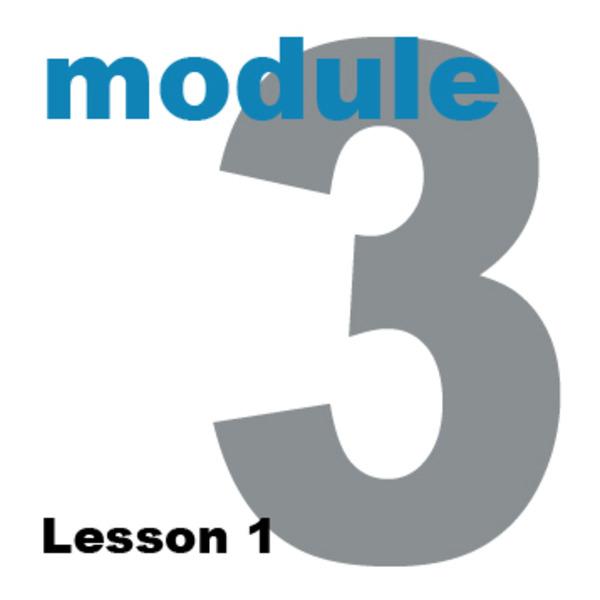 Module 3 Planning a Website: Lesson 1