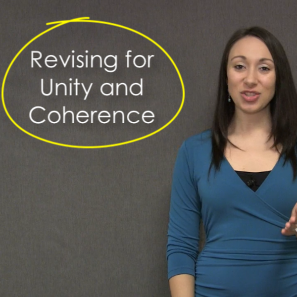 Revising for Unity and Coherence