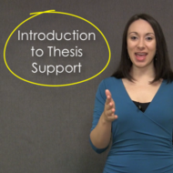 Introduction to Thesis Support