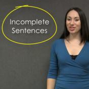 Incomplete Sentences