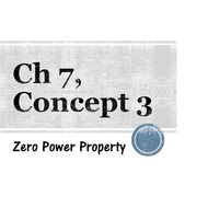Chapter 7, Concept 3 - Zero Power Property