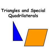 Triangles and Special Quadrilaterals