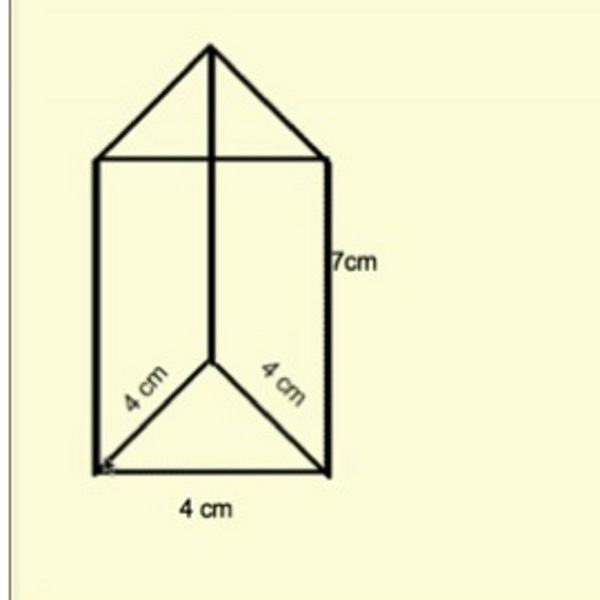 Lateral Area of a Prism