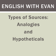 Types of Support: Analogies and Hypotheticals