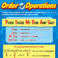 1-3 Order of Operations and Evaluating Expressions (ALG1: due on FRI 8/29)(PAP: due on THURS 8/28)