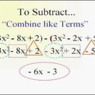 A1.7.6 & A1.7.7 Polynomials - Classifying and Adding & Subtracting