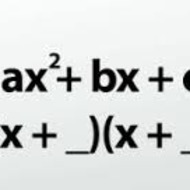 A1.8.3 Factoring Quadratics (where a=1)