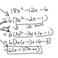 A1.8.4 Factoring Quadratics (a does not equal 1)