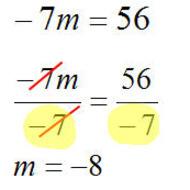 A1.1.2 Solving Equations - 1-step equations