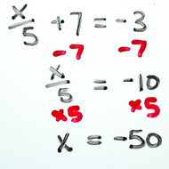 A1.1.3 Solving Equations - 2-step equations