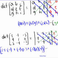 A2.6.3 Matrices - Determinants and Cramer's Rule