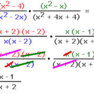 A2.7.1 Rational Expressions - Multiplying and Dividing