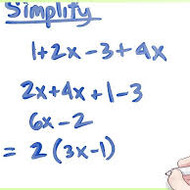 1-4 Simplifying Expressions (ALG 1 due TUES 9/2, PAP due FRI 8/29)
