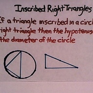 Inscribed Right Traingle