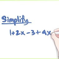 L12 Using Properties of Real Numbers to Simplify Expressions