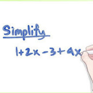 1-4 (Part 2) Simplifying Expressions (PAP due TUES 9/2 ALG1 due WED 9/3)