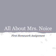 All About Mrs. Noice