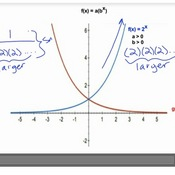 Comparing Exponential Function Graphs