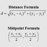 Distance and midpoint practice activity from http ...