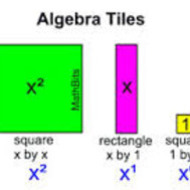 Algebra Tiles Intro (due by THURS 9/11)