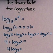 The Power Rule For Logarithms