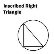 Inscribed Right Traingle