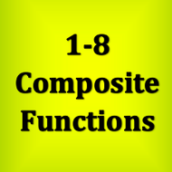 1-8 Composite Functions (Numbers)