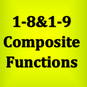 GT: 1-8 & 1-9 Composite Functions