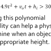 How are polynomials used in everyday life?