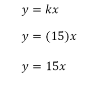 Direct and Indirect Variation