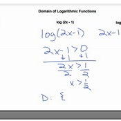 The Domain of Logarithmic Functions