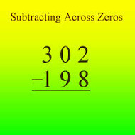 Subtracting Across Zero Lesson 4-5