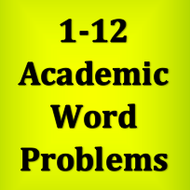 1-12 Writing System of Equations from Word Problems
