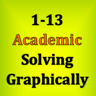 1-13 Solving Graphically