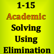 1-15 Academic - Solving Using Elimination