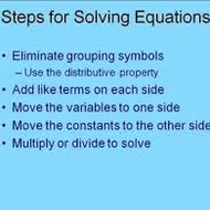 More Multi-Step Equations