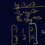 Linear Systems and Augmented Matrices
